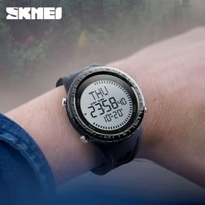Image 3 - 2018 skmei saat erkek Dijital Saat Erkekler Açık 50 M Su Geçirmez Geri Sayım Pusula Chronograph Spor Izle Adam Relogio Masculino