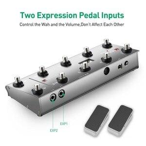 Image 4 - Портативный USB MIDI контроллер для гитары, с 10 ножными переключателями
