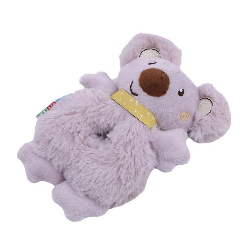 0-12 ヶ月のおもちゃ人形手巻きコアラぬいぐるみリングボールベッドおもちゃ幼児のおもちゃ新生児ソフトベビーラトルおもちゃ