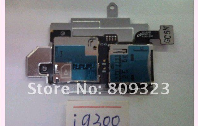 SIM MEMORY CARD READER TRAY HOLDER FLEX CABLE FOR Samsung Galaxy SIII S3 I9300 FREE SHIPPING