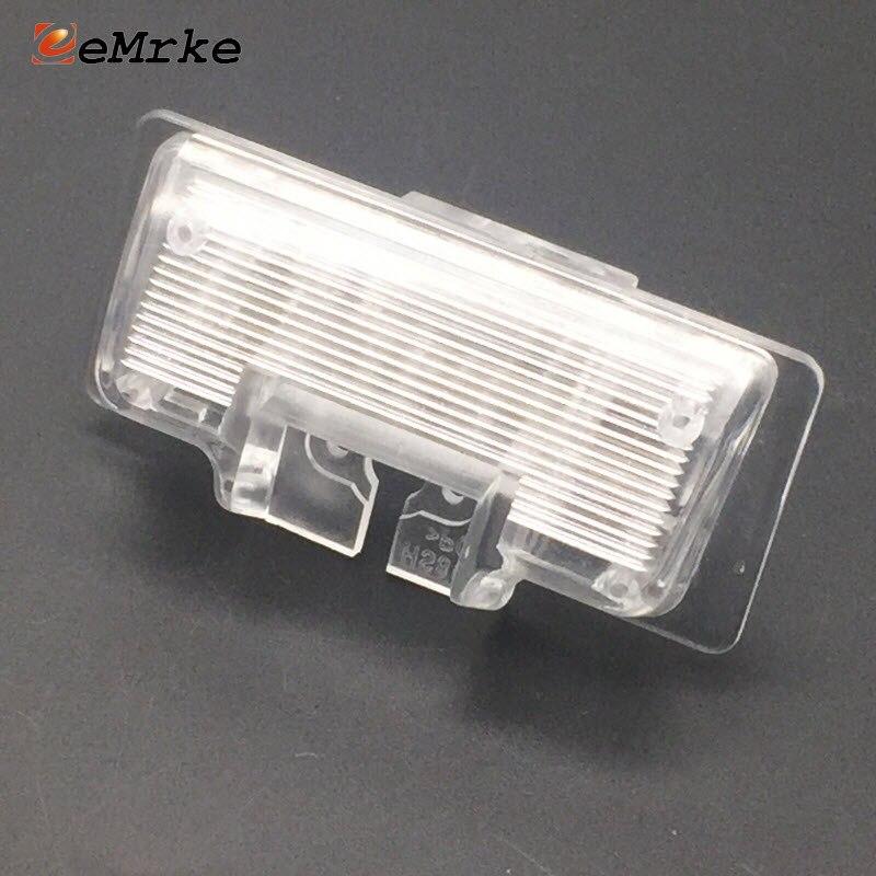 EEMRKE DIY Car Rear Camera Bracket License Plate Lights Housing For Nissan Tiida Sedan C11 2004-2010 / Note Hatchback 2012+