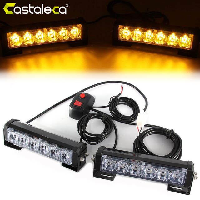 Emergency Warning Strobe Lights