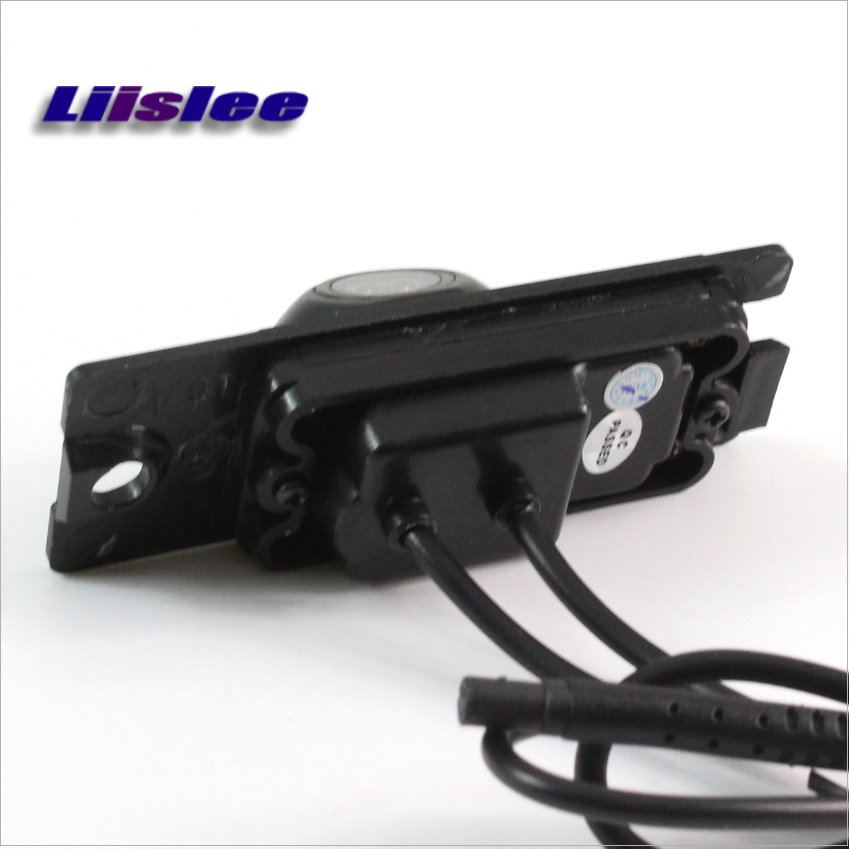 Liislee Rear View Reverse Camera Backup Parking Camera For Volvo XC90 XC 90 2003~2006 / HD CCD / License Plate Light Install