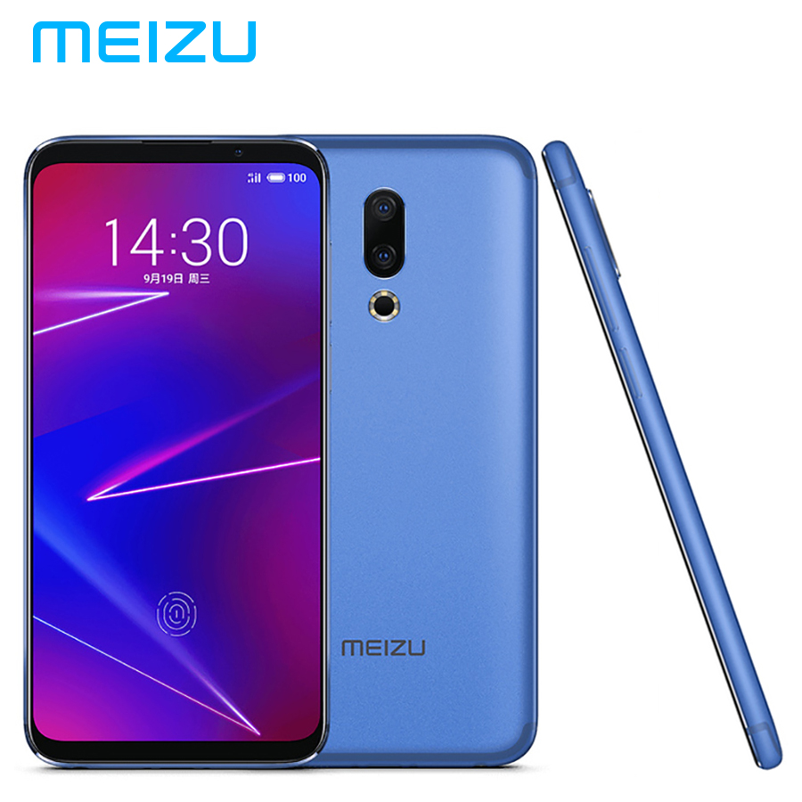 "Brand New MEIZU 16 16X LTE 4G Mobile Phone Dual SIM 6GB 128GB Snapdragon710 Octa Core 6.0""1080x2160p 3100mAh 20MP Android 8.0"
