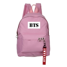 BTS Pink & Black Backpacks (12 Models)