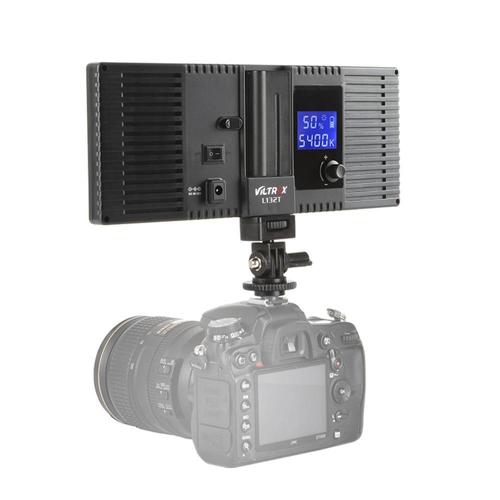 Viltrox L132T Luz de video LED Pantalla LCD ultra delgada Pantalla de - Cámara y foto - foto 5
