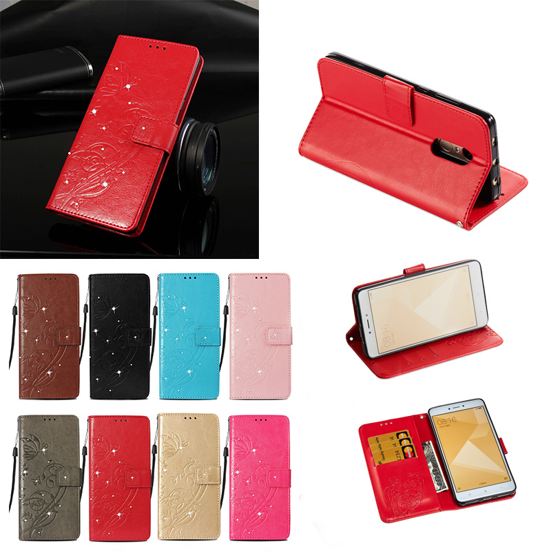 Flip Case for <font><b>Xiaomi</b></font> <font><b>Redmi</b></font> <font><b>Note</b></font> <font><b>4X</b></font> <font><b>3/32</b></font> Low Version Phone Leather Cover for <font><b>Xiaomi</b></font> <font><b>Redmi</b></font> <font><b>Note</b></font> 4 Note4 Case Global version Cases image