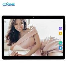 "CIGE 10.1 inch Tablet pc Android 7.0 Octa core RAM 4GB ROM 32GB 3G Bluetooth GPS 1280X800 IPS Smart tablets pcs X20 10"""