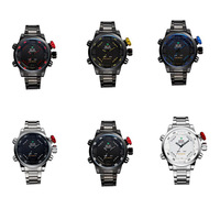 Feitong High Quality Multi Function Quartz Digital Date Mens Military Wrist LED Watch Free Shipping Wholesales