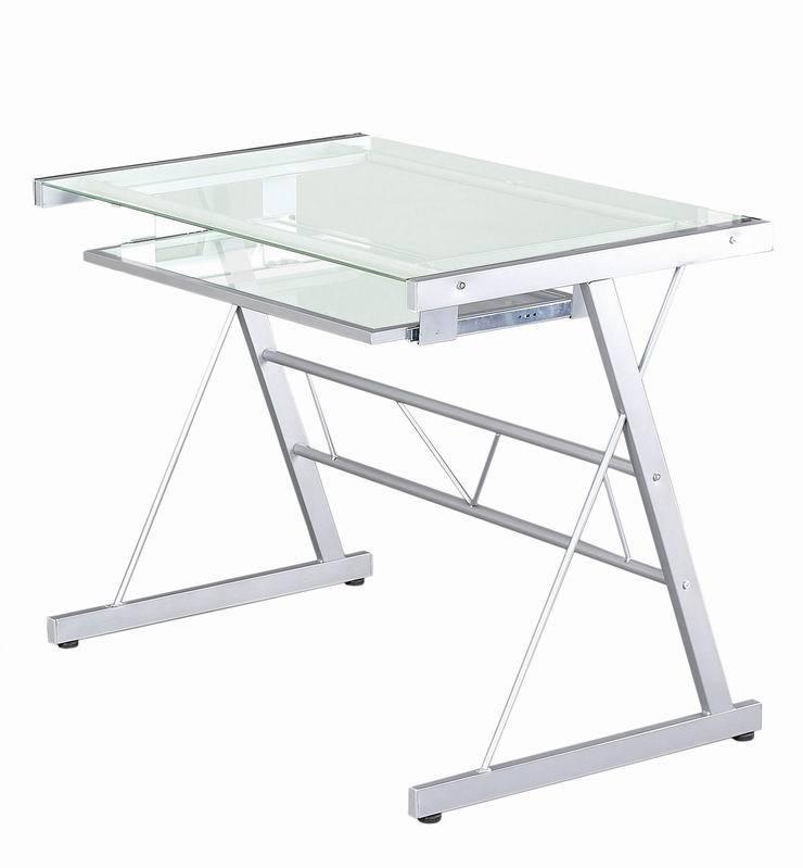 Transpa Gl Panel Office Pc Desk