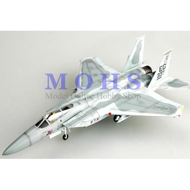 מודל קל 37120 1/72 התאסף דגם בקנה מידה סיים דגם מטוס מטוסים בקנה מידה F15 F 15C 85 0102/לדוגמא, 58 TFS/33 TFW 1991