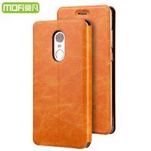 Для Xiaomi Redmi Note 4X Чехол Оригинальный MOFI искусственная кожа флип чехлы с подставкой Телефон задняя крышка Redmi Note 4×4 x Обложка 5.5 дюймов