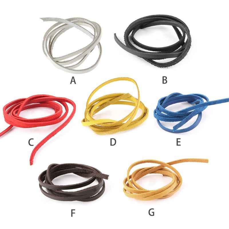 De béisbol y softbol guante de encaje reparar cuerda de cuero 110 cm múltiples colores disponibles