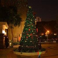 Rot Grün Laser Licht Weihnachten Fee Projektor Sky Star Laser Scheinwerfer Dusche Im Freien Garten Hinterhof Terrasse Landschaft-in Bühnen-Lichteffekt aus Licht & Beleuchtung bei