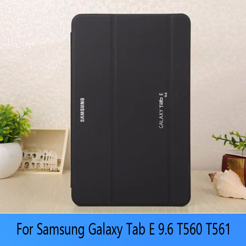 Tablet Cover Case for Samsung GALAXY Galaxy Tab E 9.6 T560 SM T560 T561  PU protective shell protect планшет samsung galaxy tab e 9 6 8gb 3g black sm t561