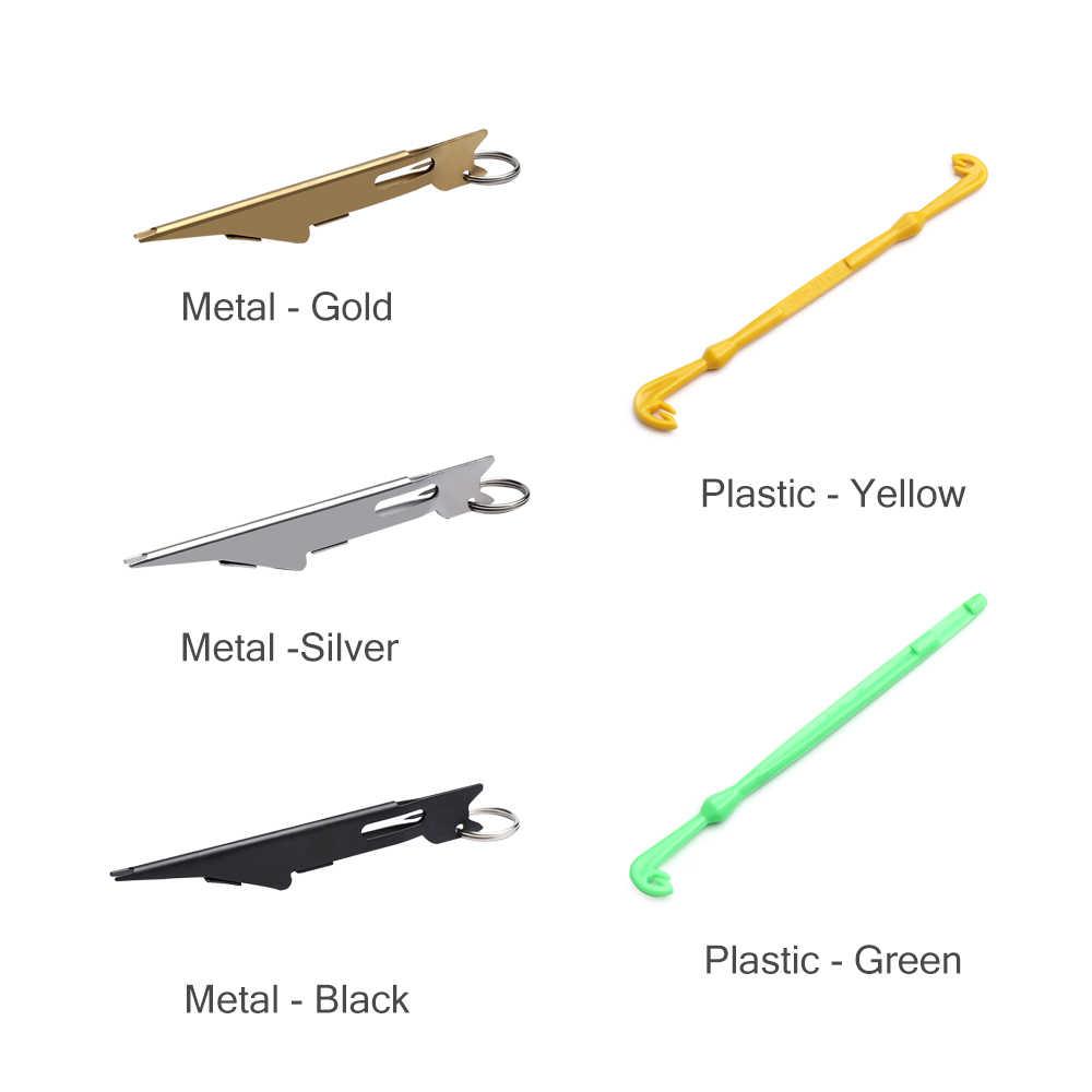 Fishing Line Wire Braid Loop Hole Maker Tier Helper Hook Remover Fishing Gadget