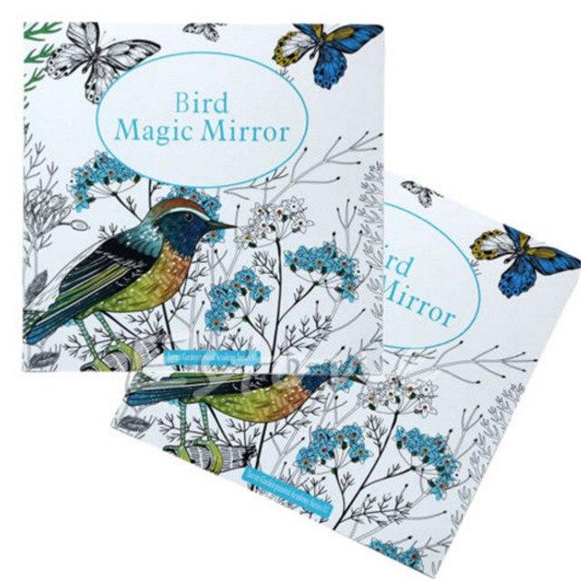 New Secret Garden Bird Magic Mirror Children adults Graffiti ...