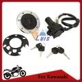 Motorcycle Fuel Cap Tank Cover Ignition Switch Key Set for Kawasaki ZZR400 ZZR600 ZX-6R ZX-7R ZX-7RR ZXR400 ZX-9R ZXR750