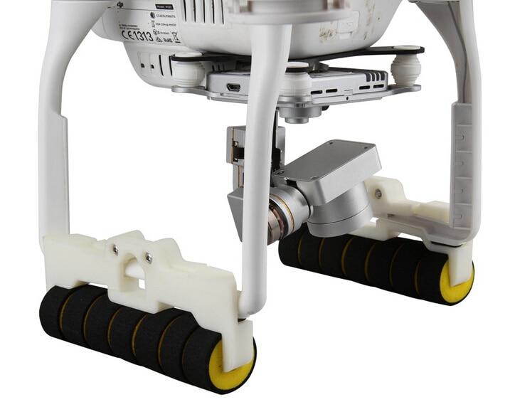 DJI Phantom 3 tripod accessories landing gear legs extended elongate bracket heighten shock pad 1 Pair