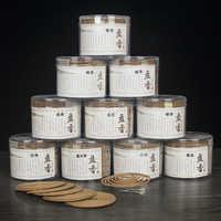 2hour/4hour 48pc/box coil incense sandalwood burner home decor jasmine smell burning home incnse indian lavender