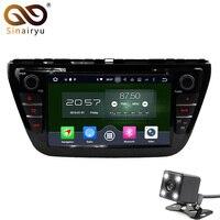 4 GB RAM Acht Kern Android 6.0 Auto Audio Fit für SUZUKI S-CROSS 2014 2015 DVD-Spieler Head Gerät Multimedia Stereo Radio Einheit