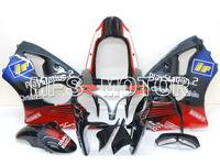 Для Kawasaki NINJA ZX6R 2000 2001 2002 00 01 02 впрыска зализа ABS Наборы NINJA ZX 6R 00 01 02 Play Station красный/черный