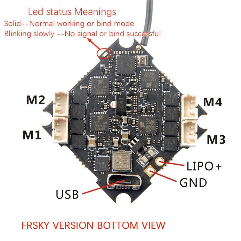 V3.0 10A 2-Brushless ESC Receptor compatível para