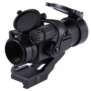 Image 2 - 戦術 M2 ホログラフィック視力ライフルスコープ 1X30 レッド & グリーンドット狩猟照準光学スコープコリメートライフルスコープ狩猟用