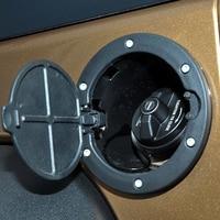 Fuel Filler Cover Gas Tank Cap For Jeep Wrangler JK Rubicon Sahara Unlimited 2 4 Door