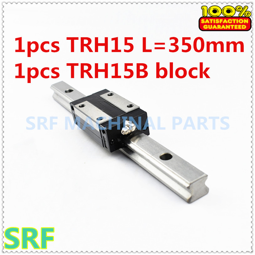 1pcs 100% Brand New TRH15-L350mm Linear Guide Rail(any length can cut) + 1pcs TRH15B Linear Guide block free shipping ботинки shoiberg shoiberg sh003awwkg34
