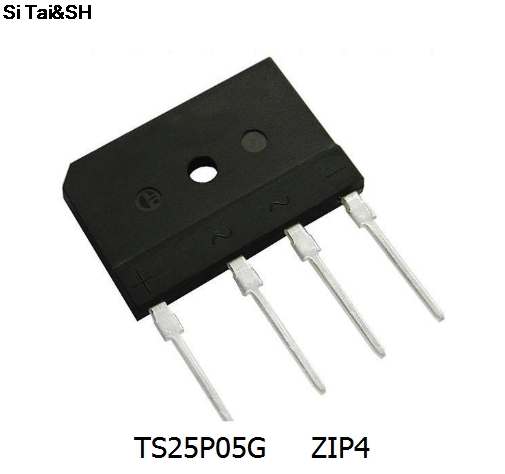 Free Shipping 5pcs/lot Rectifier Bridge Pile TS25P05G TS25P06G TS25P07G New Original