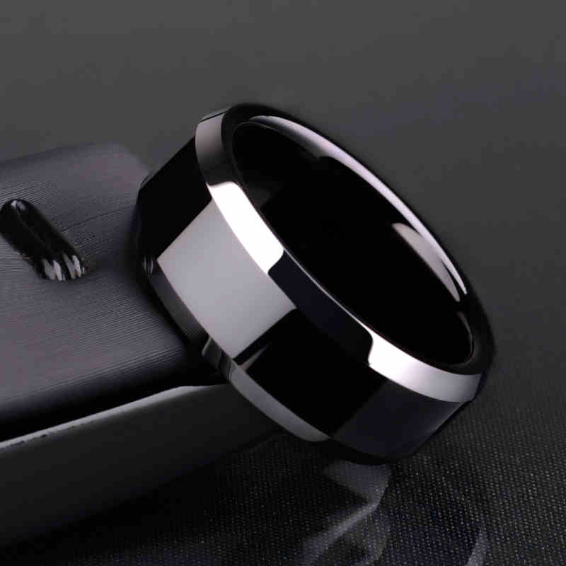 """Ring """"Men Style"""" Titanium Black"""