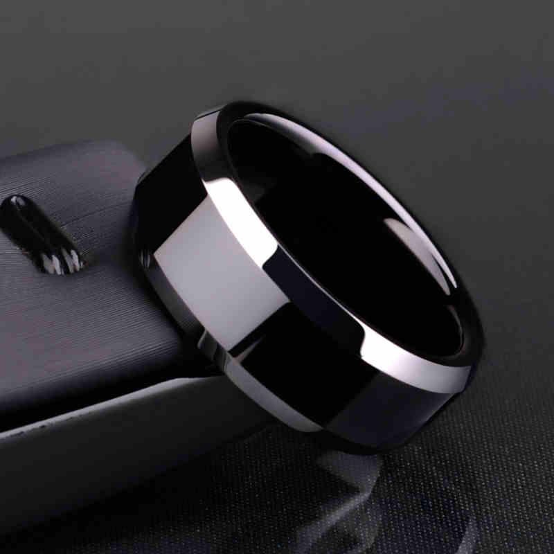 Кольцо Для мужчин Титан черный