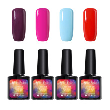 Newest 3D Shining LED UV Nail Gel Polish vernis gel UV Bling Glitter Gel Polish 10ML Easy Painting coat cured by LED lamp