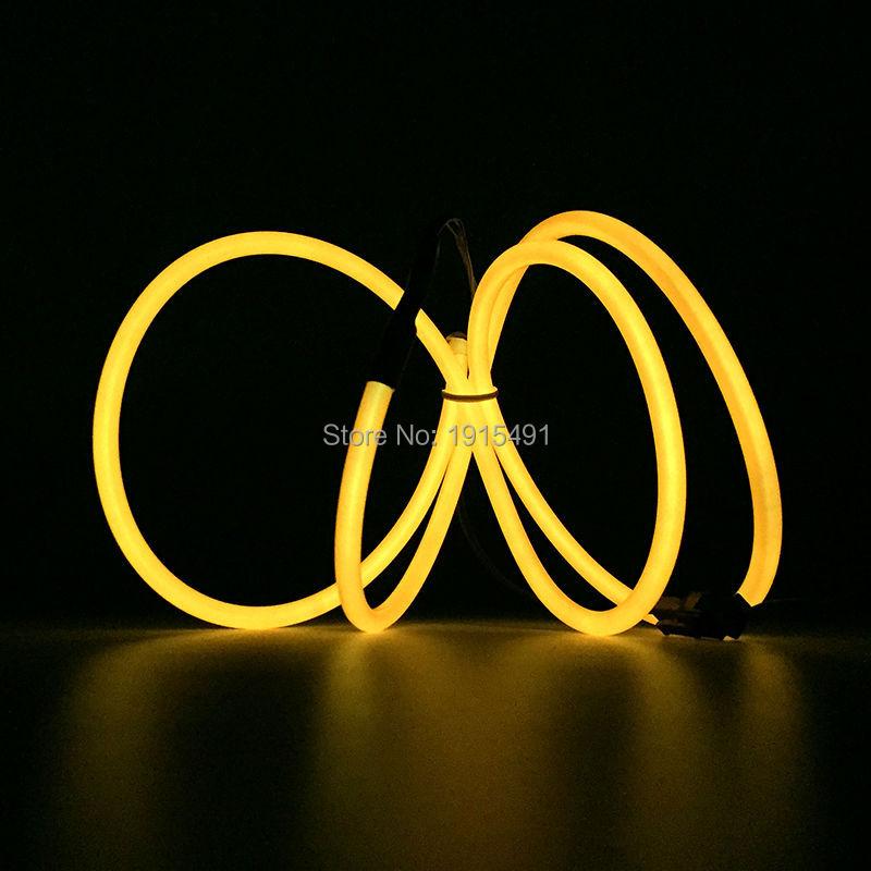 Elastyczny pasek LED Neon 5,0mm z drutu EL Pasek nici 10 kolorów - Oświetlenie LED - Zdjęcie 3