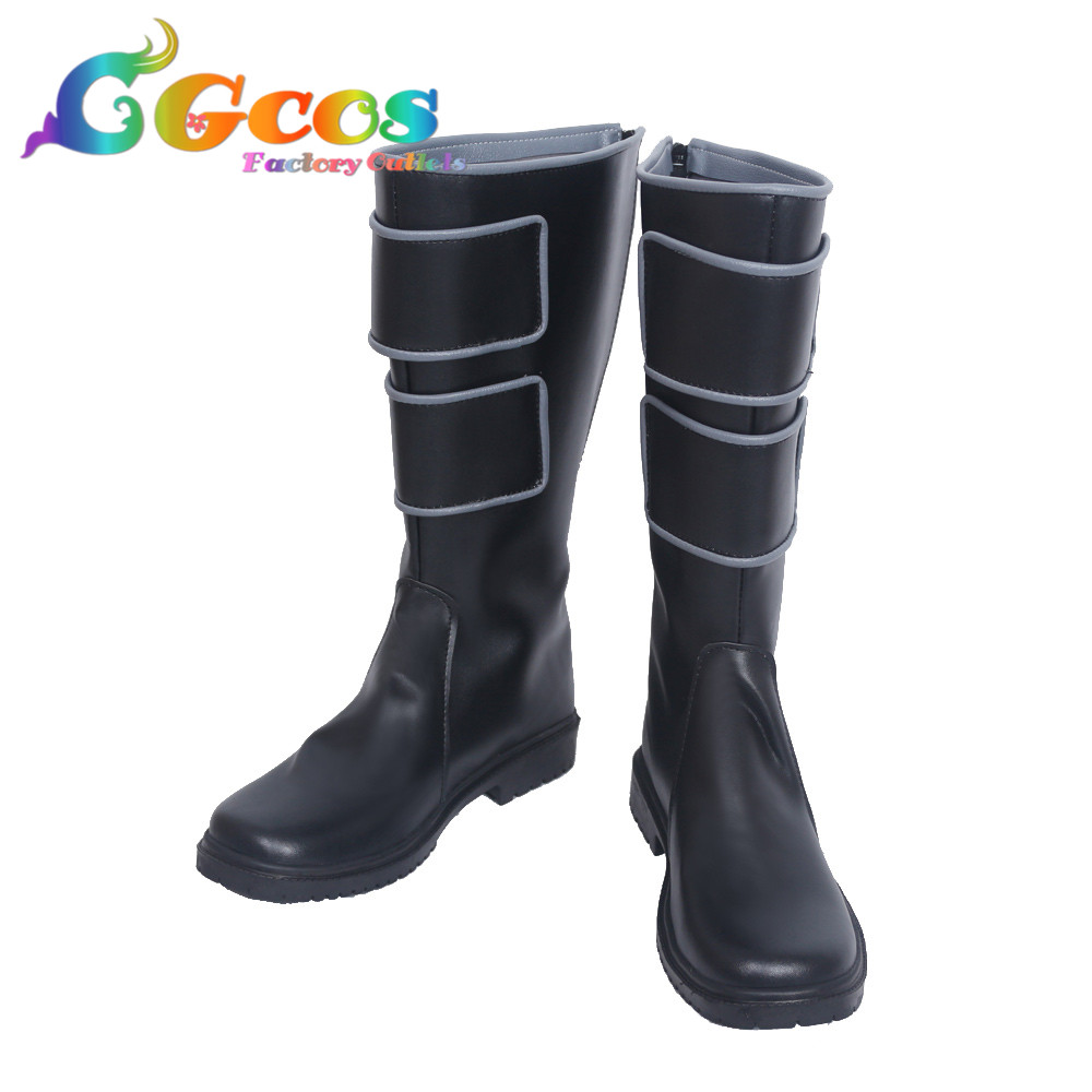 Free Shipping Cos Cosplay Shoes My Hero Academy Kyoka Jiro Shoes Boots Halloween Christmas Party cgcos fress shipping cos cosplay props my hero academia shota aizawa goggles halloween christmas