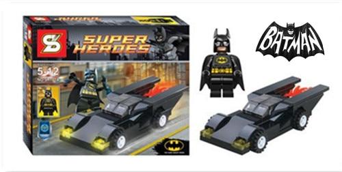 Batman DC Comics Marvel Avengers Building Blocks Super Hero  Vehicle Set Brick Figure Kids Toys Lepin neca dc comics batman arkham origins super hero 1 4 scale action figure