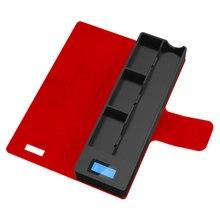 SUB два мобильных подзарядки Pods Чехол держатель коробка для JUUL Зарядка для электронной сигареты Pods Чехол держатель коробка Универсальный совместимый
