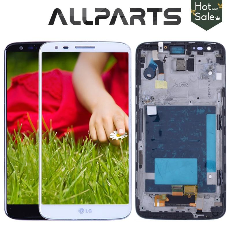 Original 5.2 '' LCD per LG G2 D802 Display Touch Screen Digitizer Assembly Display per LG G2 D802 LCD D800 D801 D805 D803