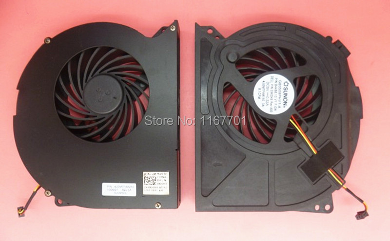 Laptop/notebook Cpu Cooling Fan For Dell Xps17 L701x L702x P09e 17d-428 0xkd45 4jgm7fawi10 Gb0508phv1-a B4488 Dfs661605fq0t-f98m Lustrous Fan Cooling Computer Components