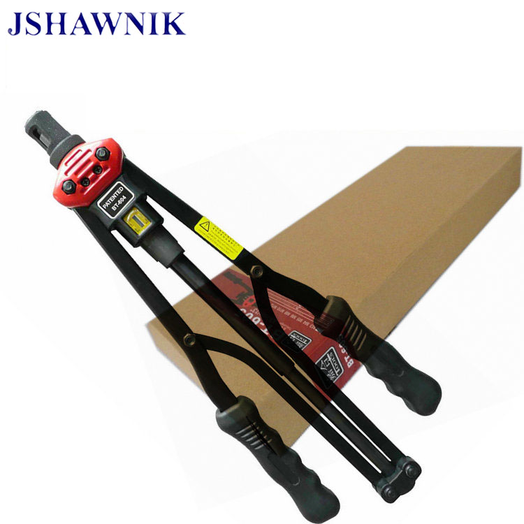 цена на 1pc 17 BT604 automatically exit Hand Riveter Rivet Nut Gun Riveting Tools With carton