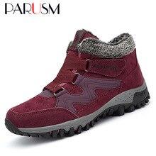 Женские ботинки на меху; коллекция года; теплые зимние ботинки; Женская рабочая обувь; женская обувь; Модные женские ботильоны на резиновой подошве