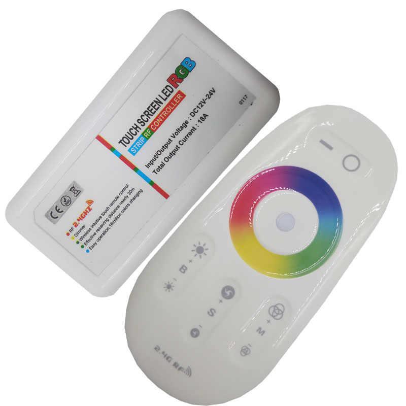 24 kluczyk z pilotem zdalnego kontroler Led RGB Led RGBW kontroler WIFI przełącznik bezprzewodowy led RF kontroler DC 12 V dla RGB taśma oświetleniowa LED