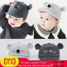 Gorra de béisbol con diseño de gato de dibujos animados para niños sombrero  de Sol para niños y niñas gorras de visores de algod. 7af6f2790ad