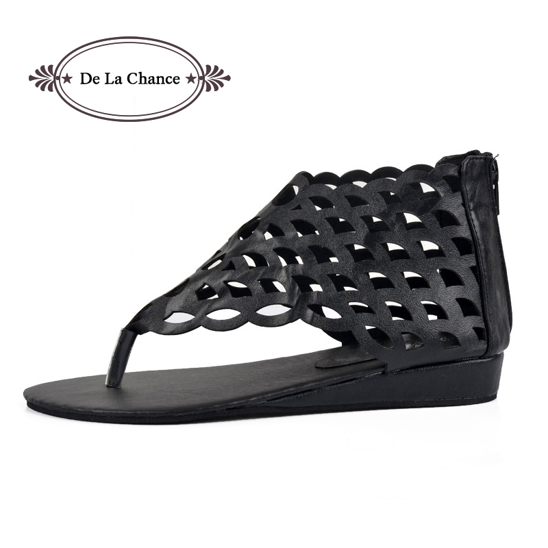 2017 Mode Chaussures Femmes Gladiator Flats Ouvert-Toe Thong Sandales - Chaussures pour femmes