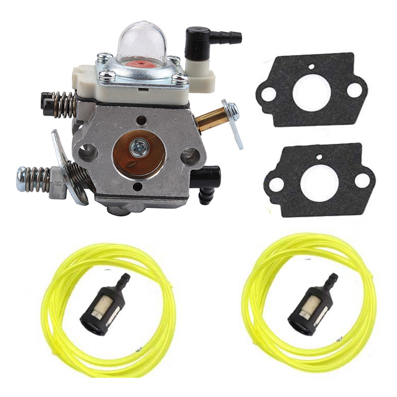 Attachment Carburetor Kit 7pcs For Walbro WT-990 WT-990-1 Set Parts Replacement Lawn Mower Tool Parts Replacement