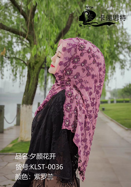 2019 Dubai design haute classique femmes musulmanes mode hijab en soie