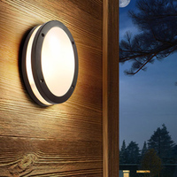 IN JUICY Outdoor Waterproof Staircase Aisle Wall Lamp LED Exterior Courtyard Corridor Wall Light Balcony Garden Wall Sconce