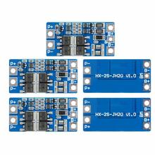 10A 2S 7.4V Lithium Battery Protection Board 8.4V with Balance Function Overcharge Overdischarge Protection