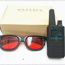 Высокочувствительный M003 Радиочастотный детектор ошибки Анти-Шпион детектор Камера GSM аудио прибор обнаружения устройств подслушивания gps сканирования gps сигнала объектива сканирования очки